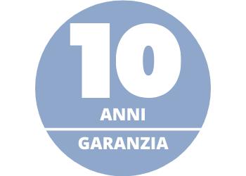 vetri 10 anni di garanzia